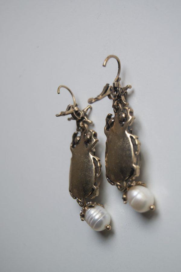 Bettle earring back