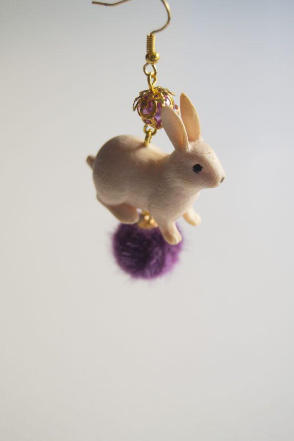 Rabbit violet turn