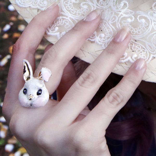 rabbit hand