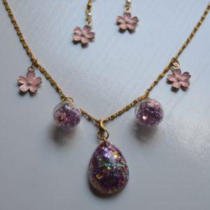 Pink sakura set