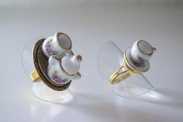 Porcelains two side