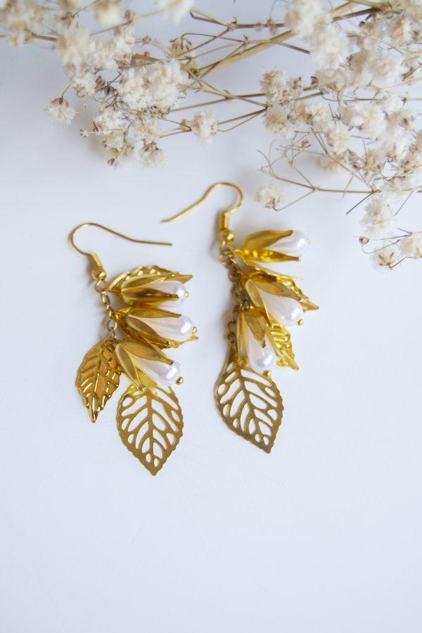 gold4en ears flowers