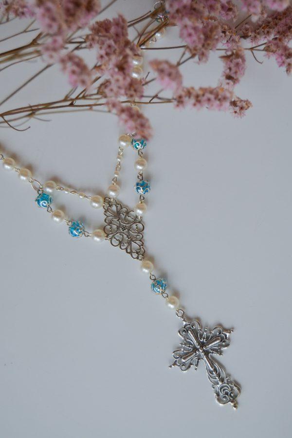 Rosary B flower